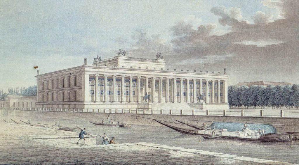 Berlin_Altes_Museum_Friedrich_Thiele_1830