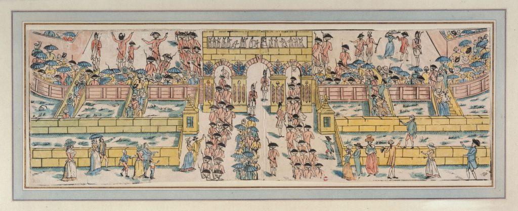 FETE DE LA FEDERATION LE 14 JUILLET 1790