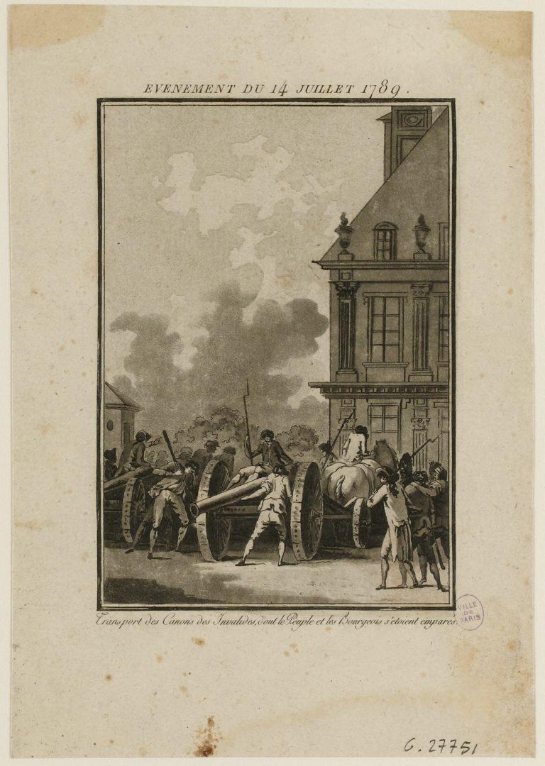 https://www.parismuseescollections.paris.fr/fr/musee-carnavalet/oeuvres/evenement-du-14-juillet-1789-transport-des-canons-des-invalides-dont-le-0#infos-principales
