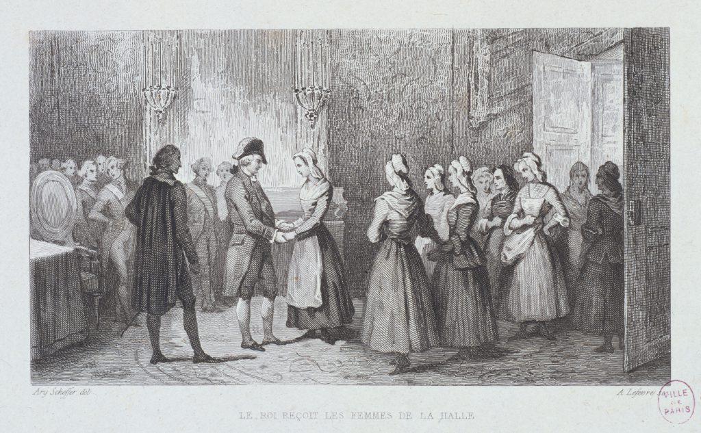 http://parismuseescollections.paris.fr/fr/musee-carnavalet/oeuvres/le-roi-louis-xvi-recoit-les-femmes-de-la-halle-dans-une-salle-du-chateau-de#infos-principales